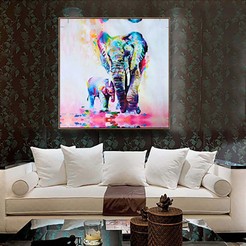 Unframed canvas print home decor wall art picture poster Decorating walls with posters