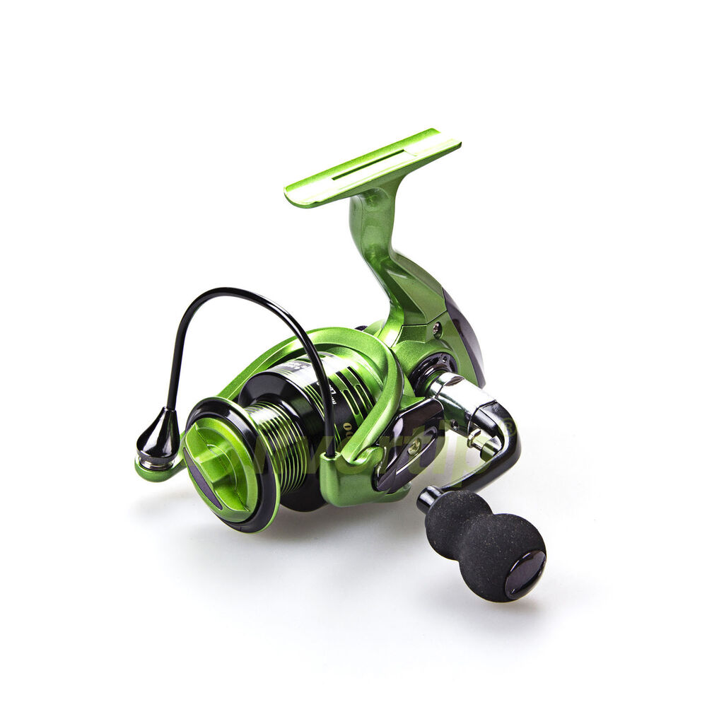 New 13 1 bb spinning fishing reel metal handle xf 3000 for How to reel in a fish