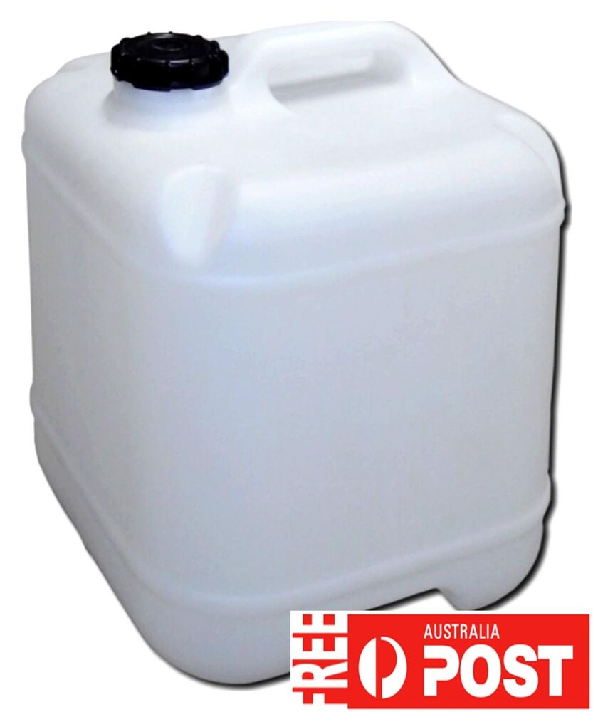 20 L Lt Water Storage Cube Container Plastic Jerry Can