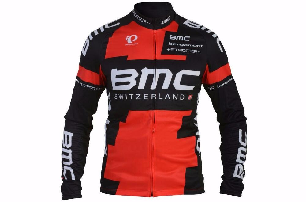 Details about Authentic Pearl Izumi BMC Racing Team Thermal Long Sleeve  Jersey Large 213835 b5fe857b1
