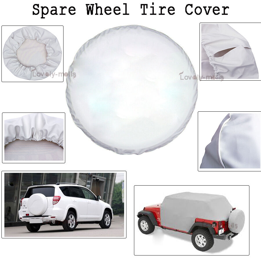 14 white spare wheel tire cover spare for suzuki samurai tire cover 26 27 ebay