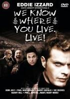 We Know Where You Live (DVD, 2001)