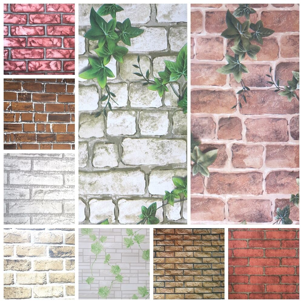 Kitchen Wall Tiles Ebay: 1M Brick Effect Tile Stickers Home Decor Kitchen Bathroom