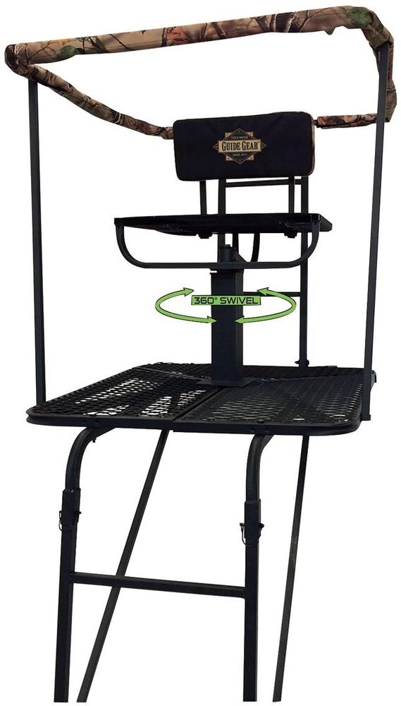 Big 16 360 Swivel Seat Hunting Ladder Tree Stand Deer