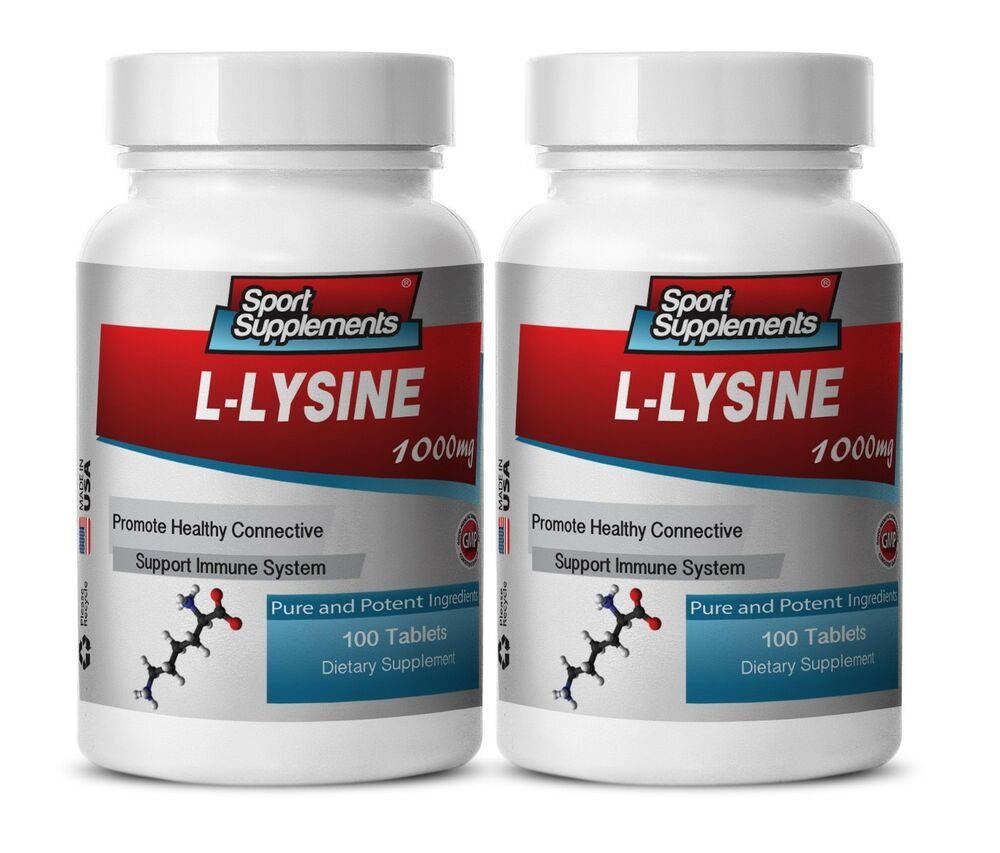 Amino Acid Supplement - L-Lysine 1000mg - Extreme Weight ...