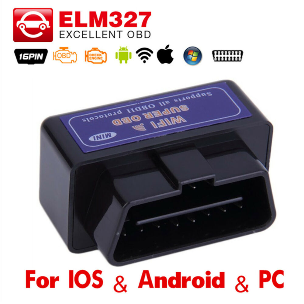 mini elm327 wi fi obdii wifi for android ios pc car diagnostic interface scanner ebay. Black Bedroom Furniture Sets. Home Design Ideas