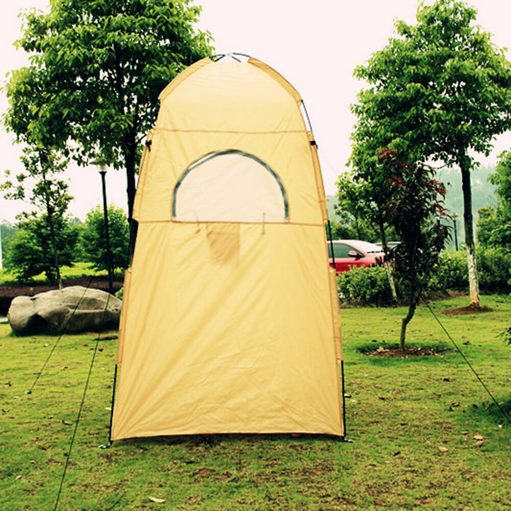Temporary Back Yard Shelters : Portable outdoor camp tent privacy bath shower shelter