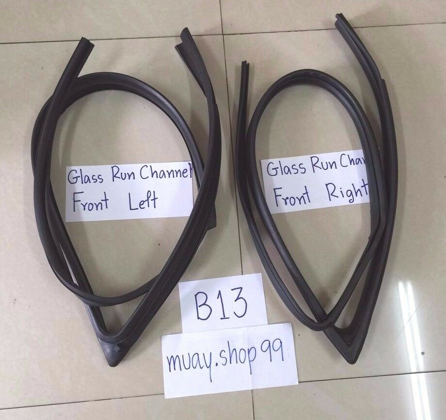 91 94 Weatherstrip Glass Run Channel Seal Set For Nissan