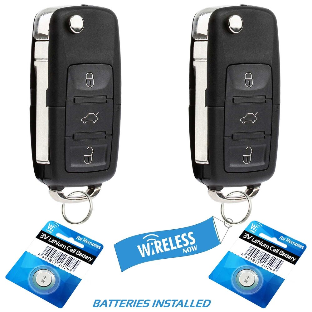 replacement      volkswagen golf jetta passat car key fob ebay