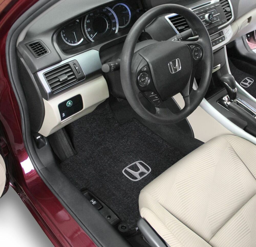 Honda Accord Coupe Carpet Floor Mats 2pc Fronts Fits 2013