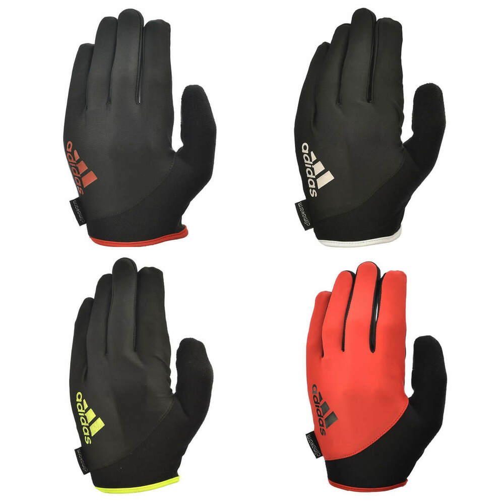 Adidas Long Finger Performance Gloves Weight Lifting: Adidas Full Finger Essential Weight Lifting Gloves Fitness