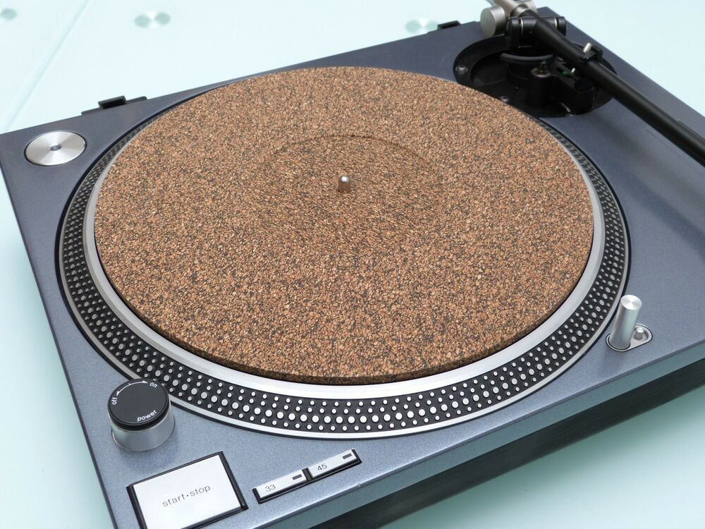 Xtm2 287 X 5mm Thick Cork Turntable Mat Fits Technics