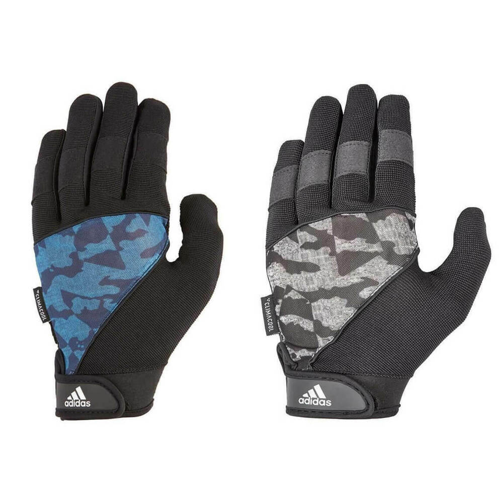 Workout Gloves Full Finger: Adidas Long Finger Performance Gloves Weight Lifting