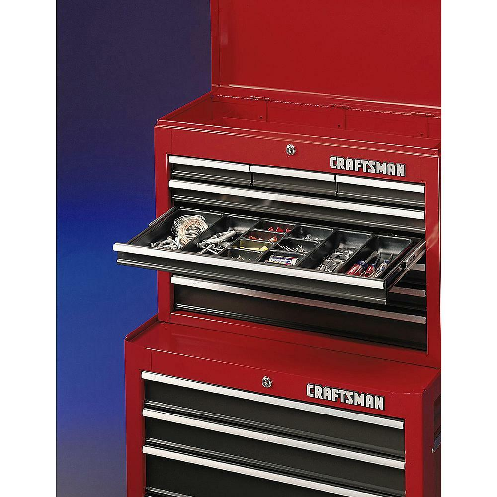 new craftsman tool chest box drawer tray organizer ebay. Black Bedroom Furniture Sets. Home Design Ideas