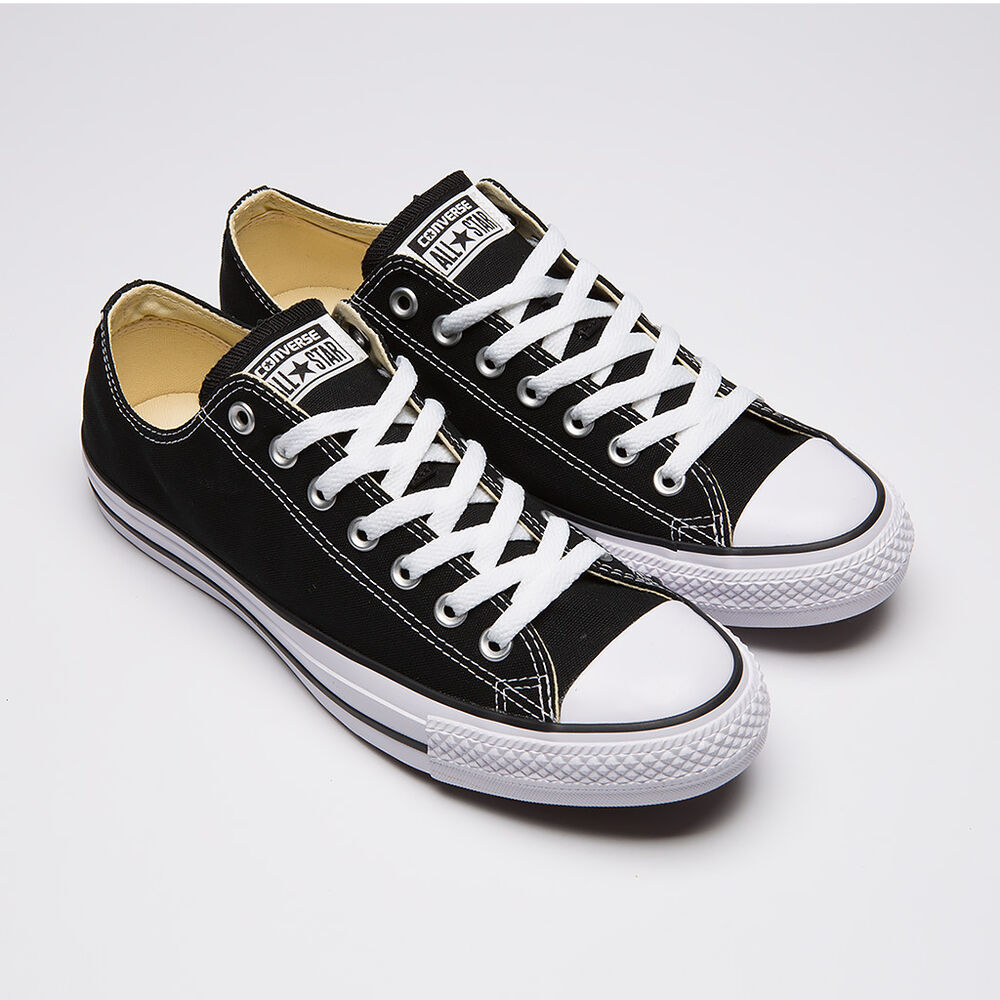 03f221fdf9d3 Details about NIB CONVERSE ALL STAR OX BLACK WHITE UNISEX CLASSICS FASHION  SNEAKERS ALL SIZE