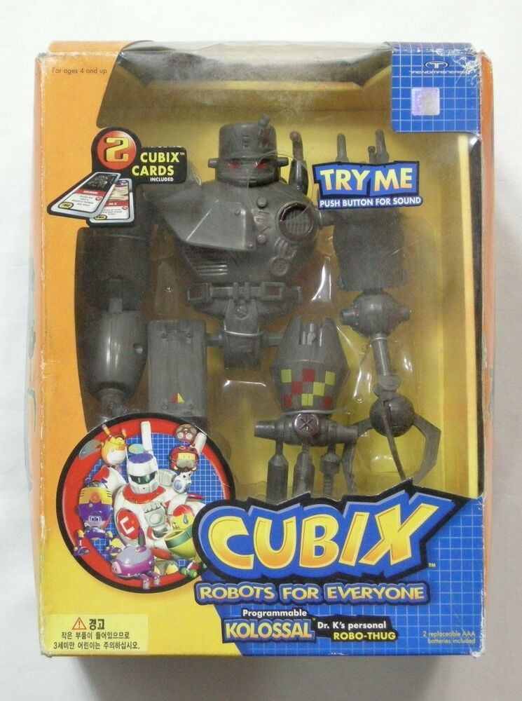Cubix Robots For Everyone Toys : Cubix robots for everyone programmable kolossal dr k s