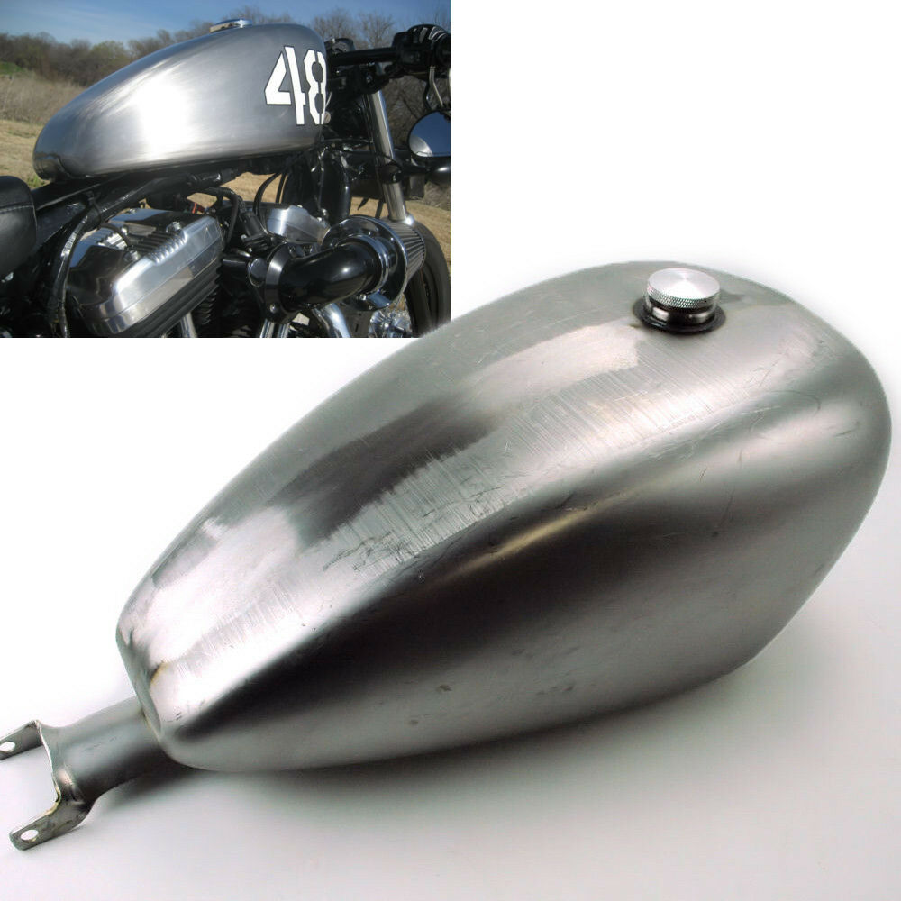 3 3 gallon bobber efi gas tank for harley davidson. Black Bedroom Furniture Sets. Home Design Ideas