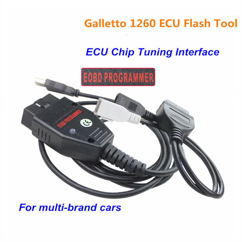 obd2 eobd ecu galletto 1260 flasher chip programmer read write tuning cable vag ebay. Black Bedroom Furniture Sets. Home Design Ideas