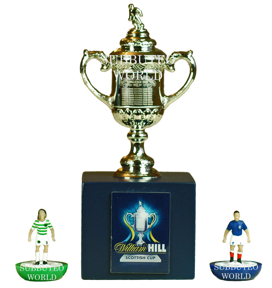 Scottish fa cup display box official licensed product for Championship league table 99 00