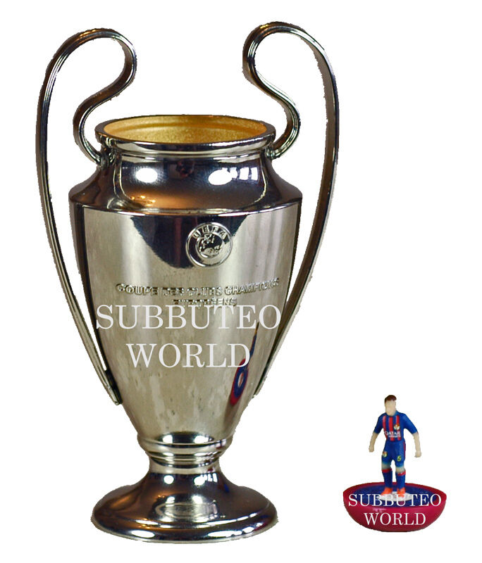 Uefa champions league trophy official licensed product for Championship league table 99 00
