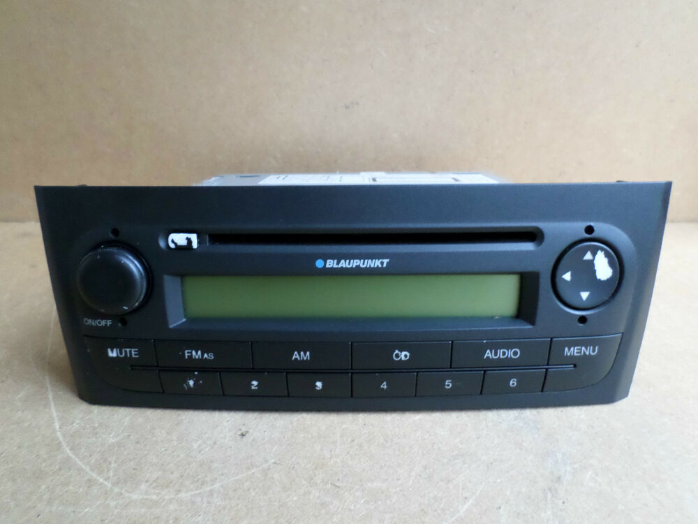 fiat punto f199 cd blaupunkt radio stereo cd player code. Black Bedroom Furniture Sets. Home Design Ideas