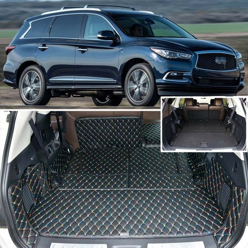 Black Rear Trunk Cover Cargo Mats Seat Amp Floor Protector For