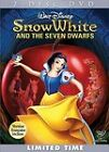 Snow White and the Seven Dwarfs (DVD, 2009, 2-Disc Set, Deluxe Edition)