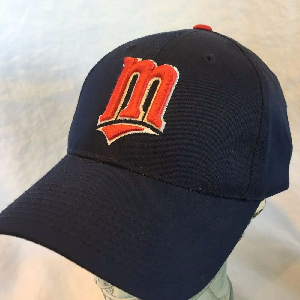 335679fd8ecbd ... norway details about minnesota twins baseball cap snap back hat navy  blue w red white logo