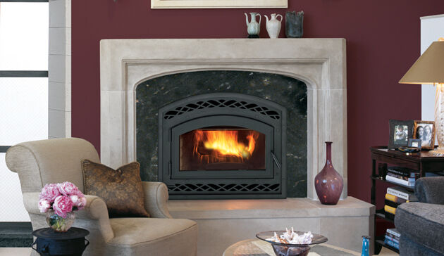 Astria Montecito Wood Burning Fireplace High Efficiency