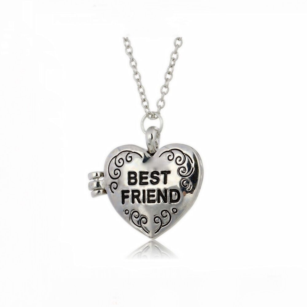 us lockets friends necklaces friend heart claire pendant glitter locket s best pastel