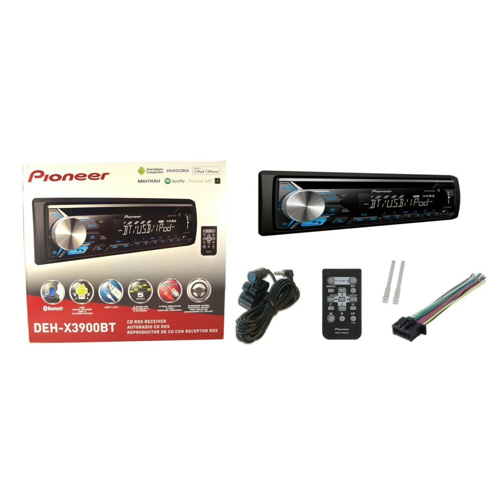 Pioneer Bluetooth Stereo Cd Player Car Radio Deh