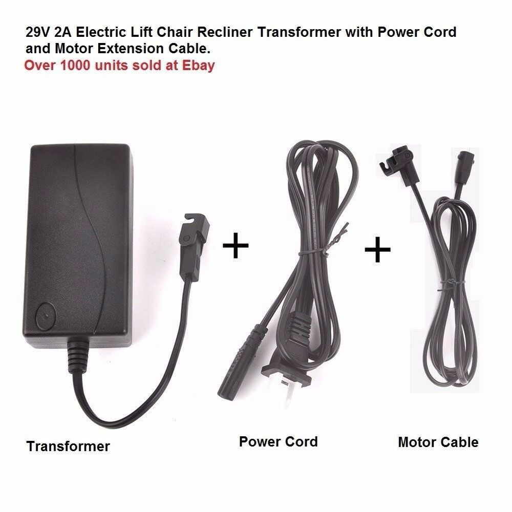 Okin Limoss Lift Chair Electric Recliner Power Supply
