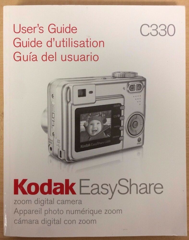 kodak easyshare digital camera manual  user s guide ebay