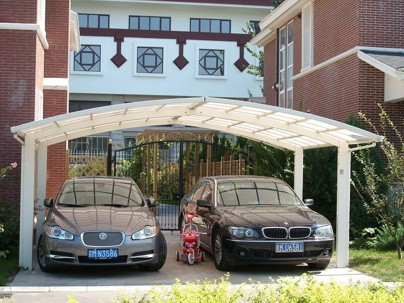 Car Shelters Metal : Aluminum alloy protective car shelter metal canopy
