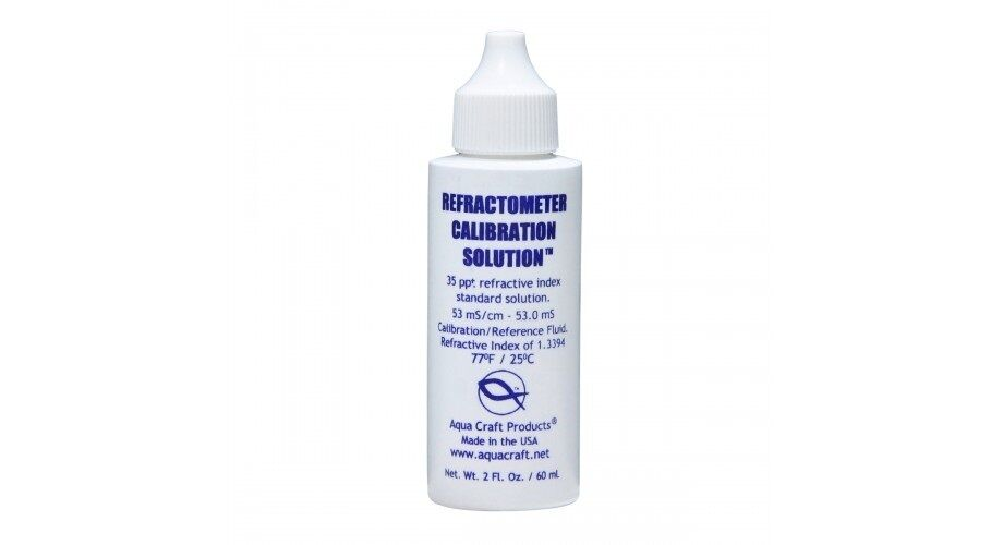Refractometer Calibration Solution 60 Ml Aquacraft 35 Ppt 2oz