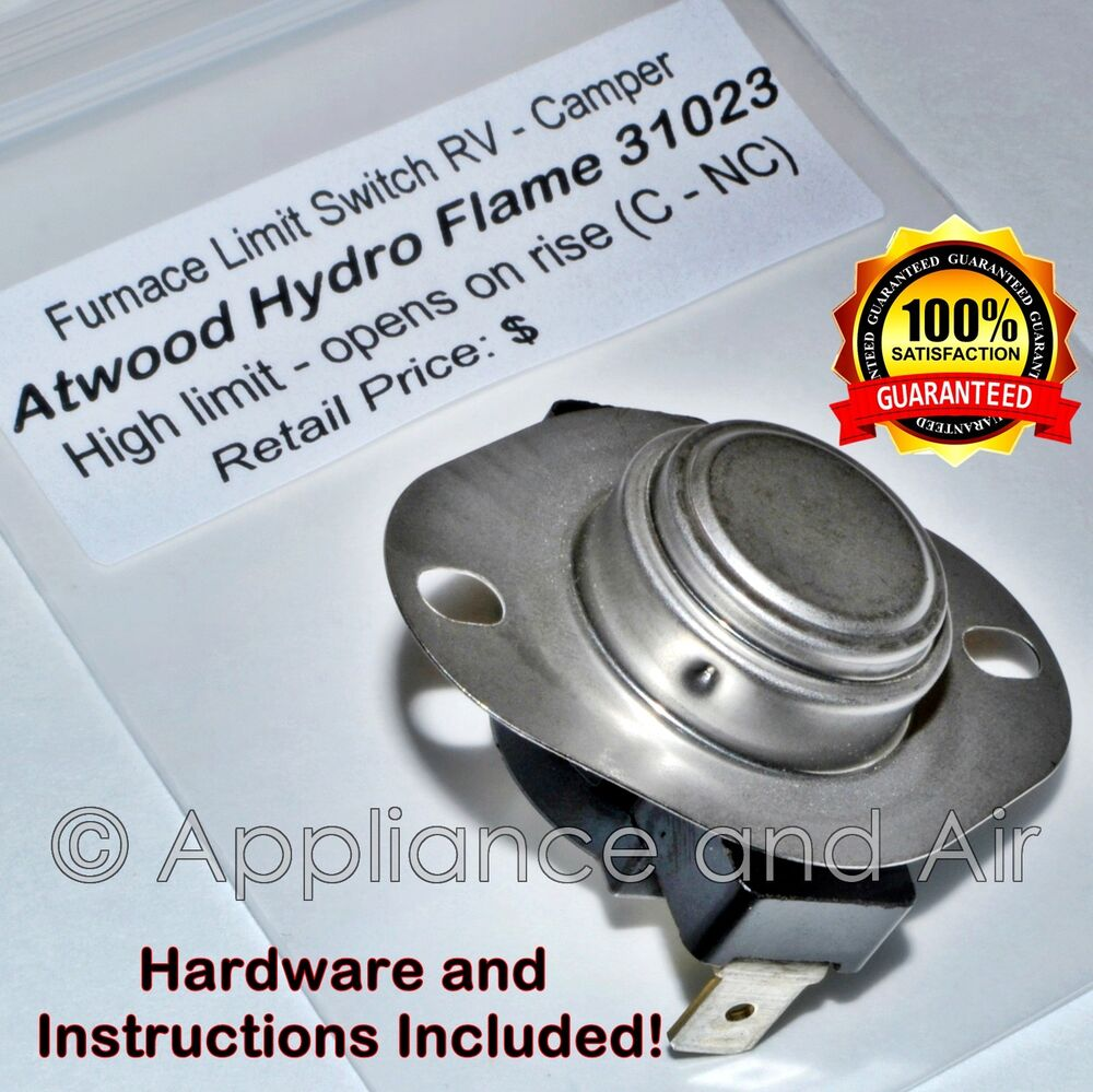 Atwood 31023 Hydro Flame Hi Limit Furnace Switch L170