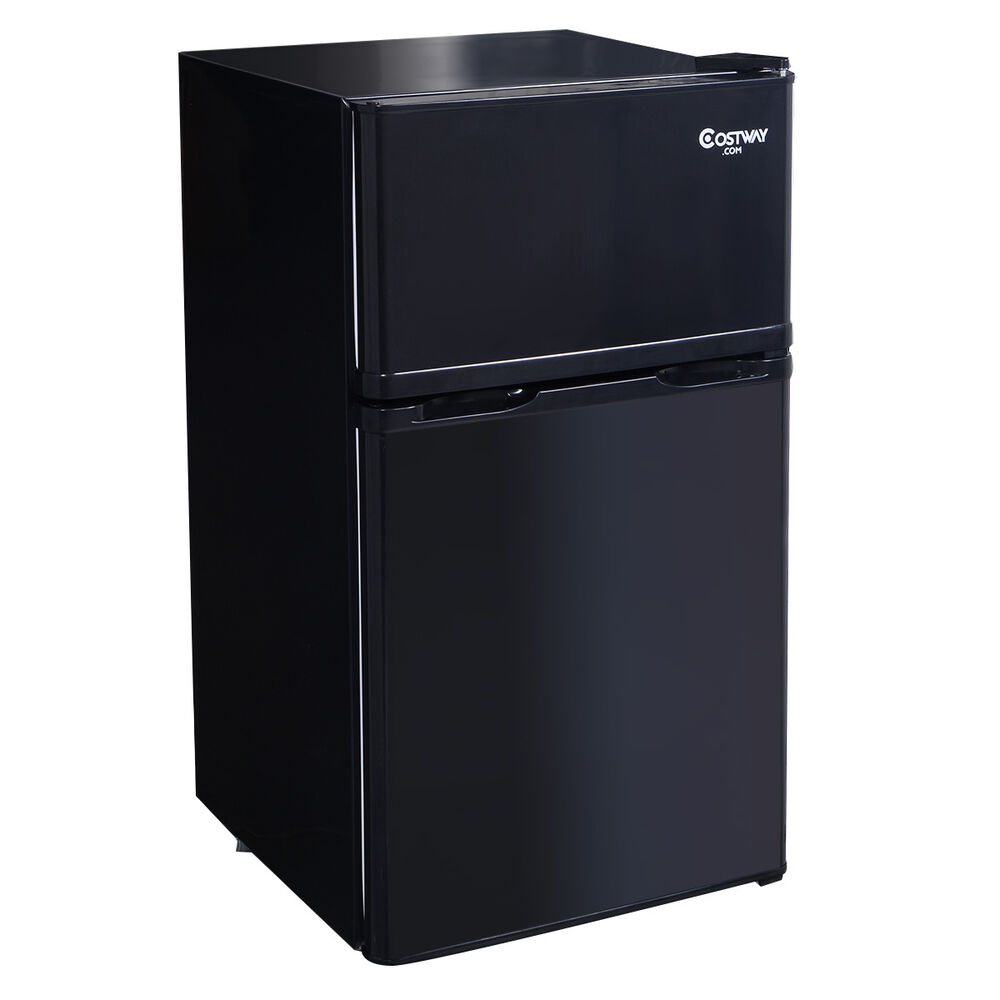 2 Door 3 4 Cu Ft Compact Refrigerator Freezer Cfc Free Furniture Home New Ebay