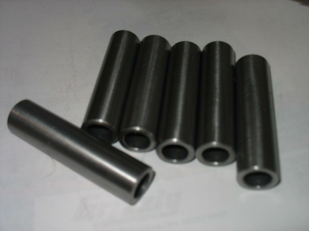 "Sleeve  1 1//2/"" OD x 1 /"" ID x 1/"" Long 1 Pc  CDS DOM Steel Bushing"