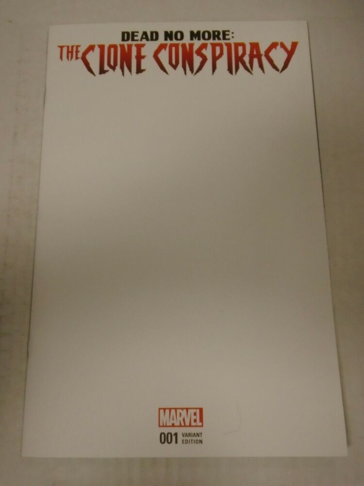 Marvel Amazing Spider Man Clone Conspiracy Dead No More Satu Blank Variant Ebay