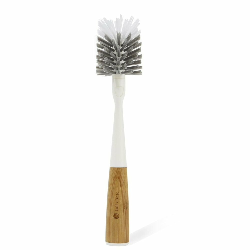 Full Circle Clean Reach Bamboo Bottle Cleaning Brush