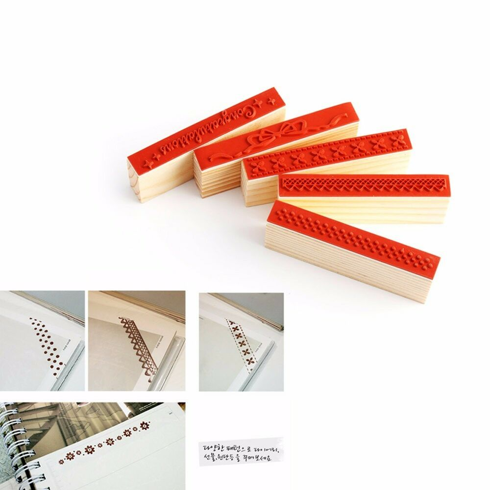 New diy english rubber wooden stamp scrapbooking craft for Custom craft rubber stamps