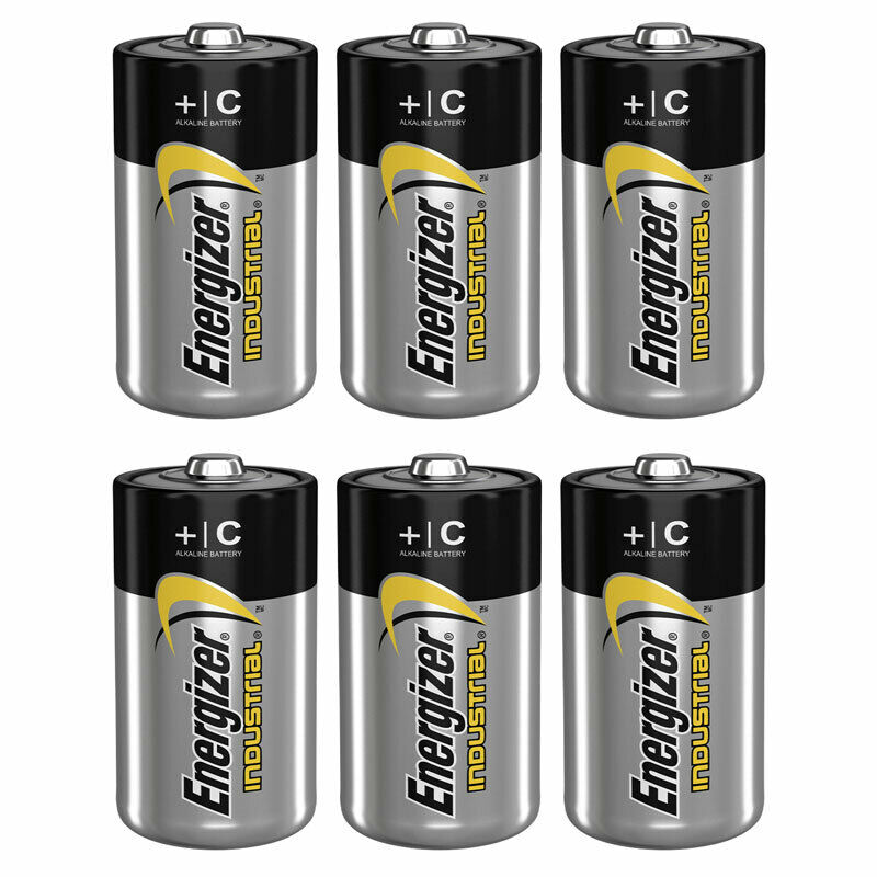 6 x energizer c size batteries industrial 1 5v lr14 mn1400 en93 baby exp 2026 ebay. Black Bedroom Furniture Sets. Home Design Ideas