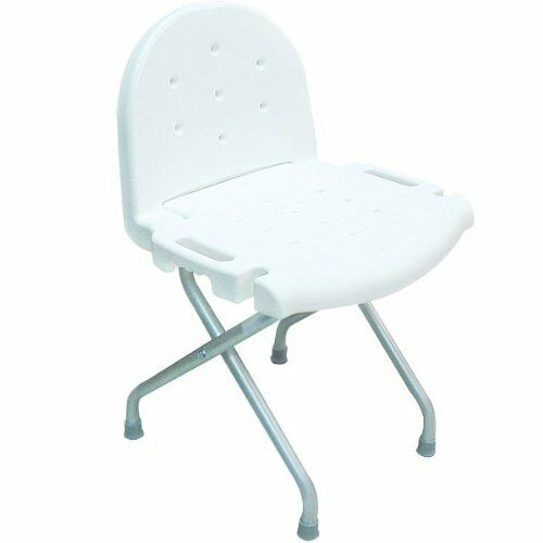 Invacare Folding Shower Chair With Back 250lb Weight