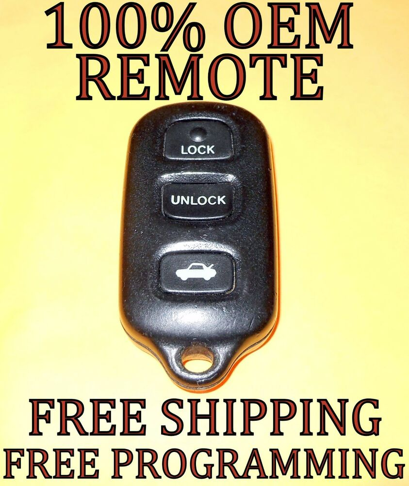 Lexus Ls400 Sc300 Sc400 Es300 Gs300 Remote Key Replacement Kit How