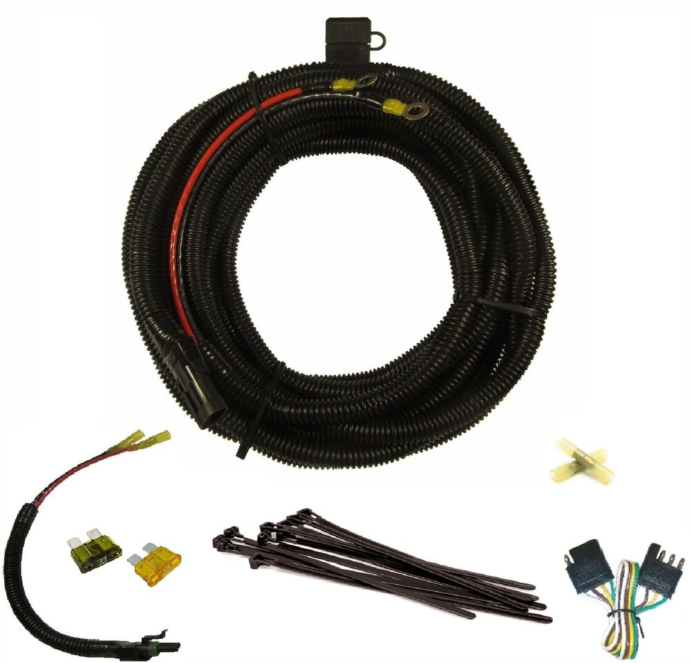 Harmar Electric Lift Battery Cable Wiring Harness  25ft