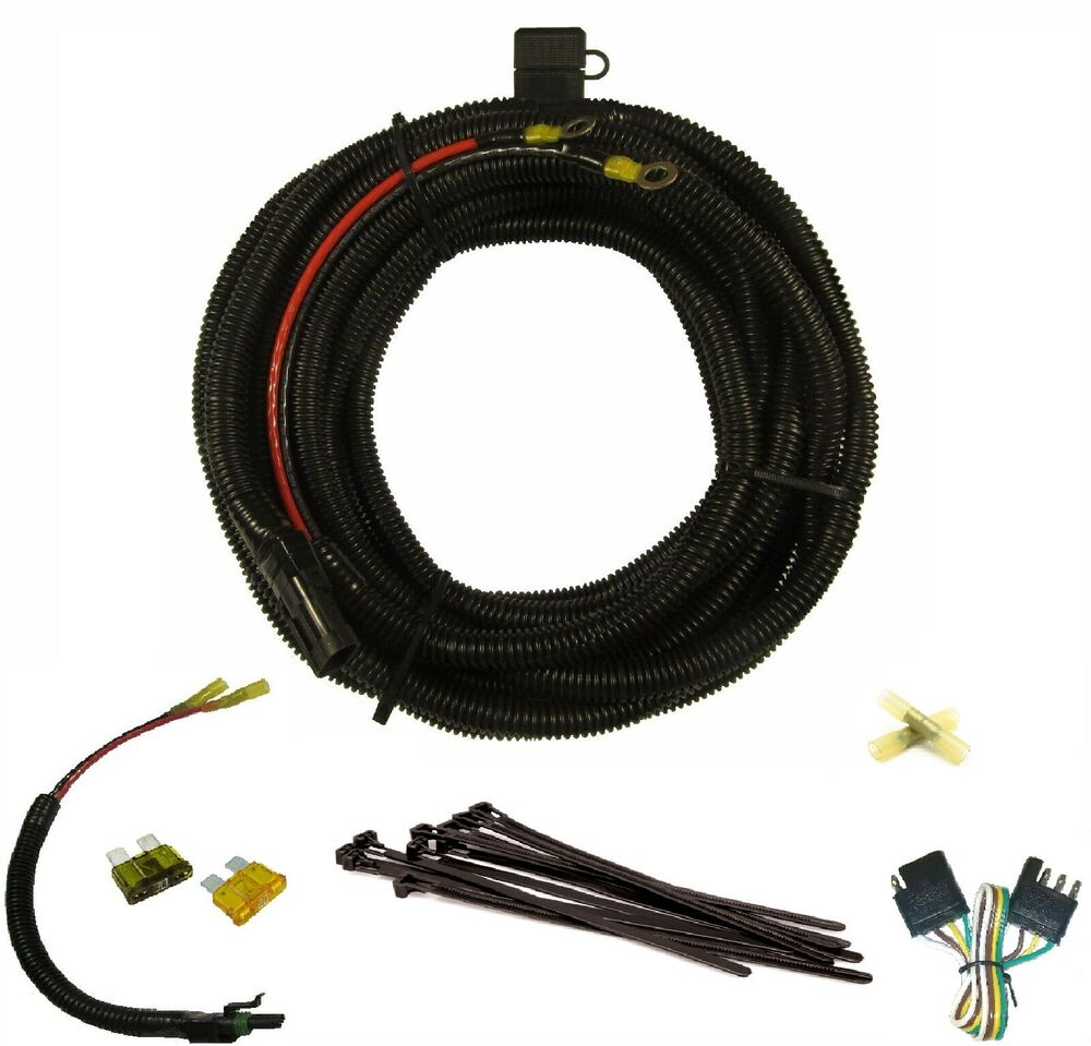 s l1000 harmar electric lift battery cable wiring harness, 25ft, 10 gauge harmar al100 wiring harness at alyssarenee.co