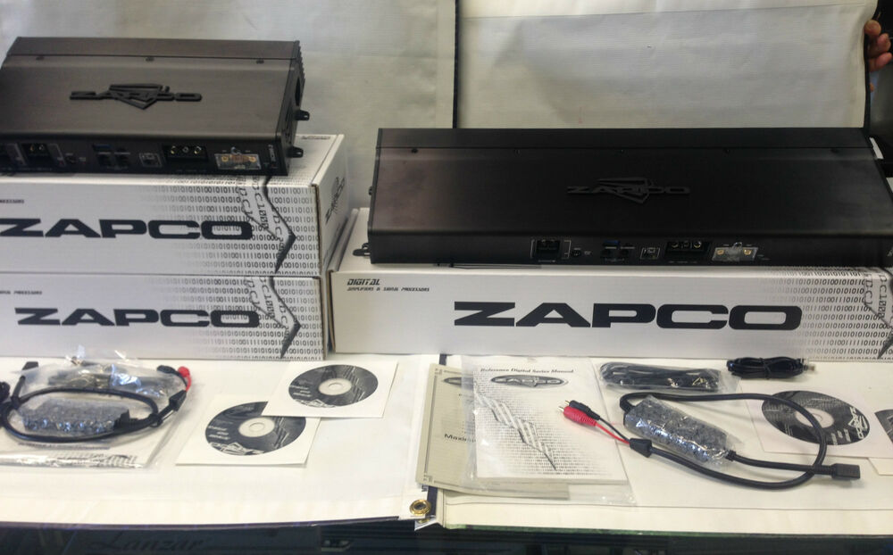 new zapco dc reference dc1100 1 two dc200 2 car amp audiophile amplifier package 768680155471 ebay. Black Bedroom Furniture Sets. Home Design Ideas