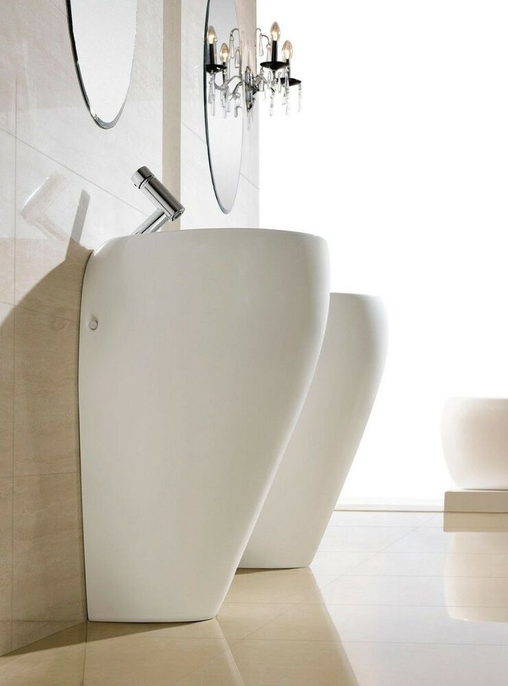 Bathroom Pedestal Sink Single Pedestal Sink Modern