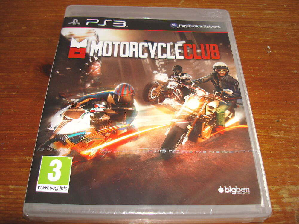 New Playstation 3 Games : Motorcycle club new sealed playstation ps game