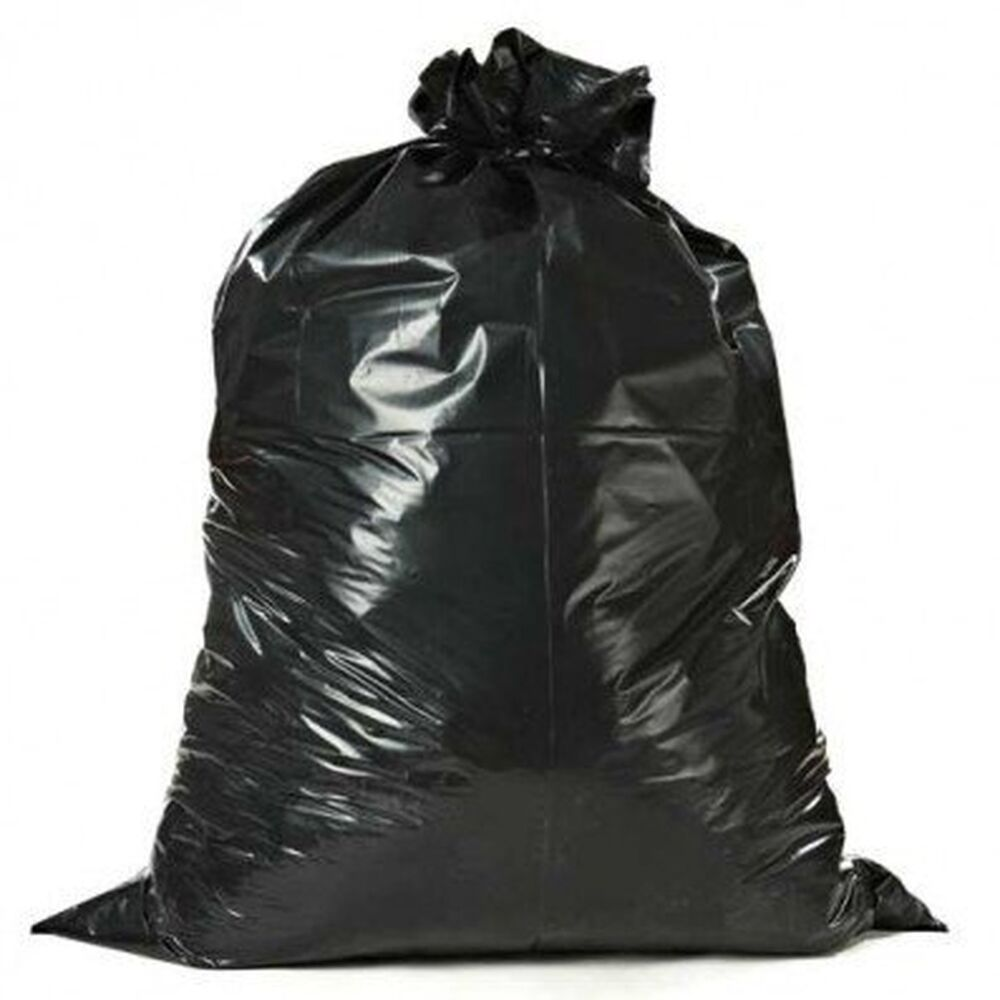 Heavy Duty 55-60 Gallon 3 mil Contractor Trash Bags, 32 ...